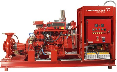 pompy i systemy przeciwpożarowe