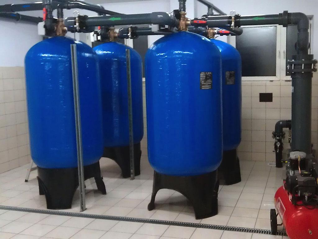 Uzdatnianie wody w przemyśle