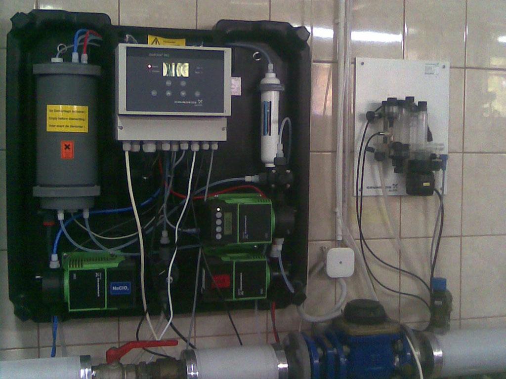 Uzdatnianie wody w szpitalach