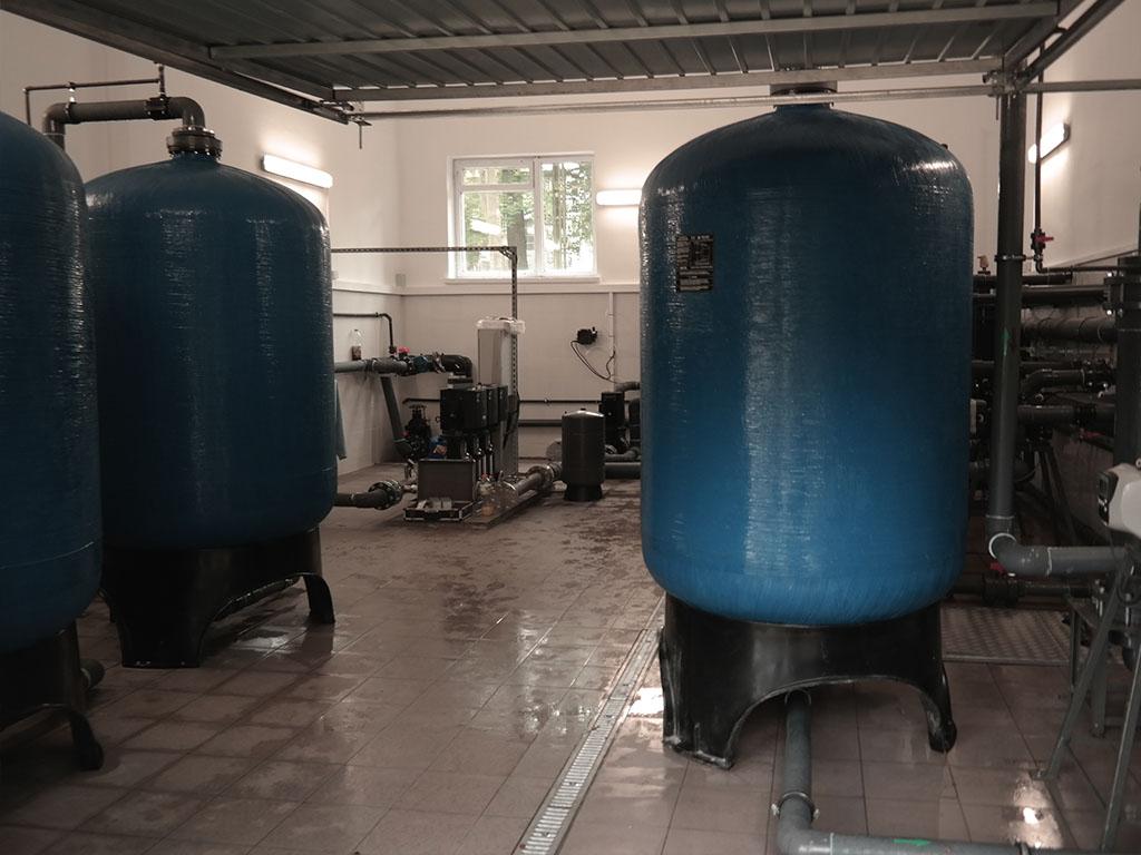 Uzdatnianie wody - wodociągi